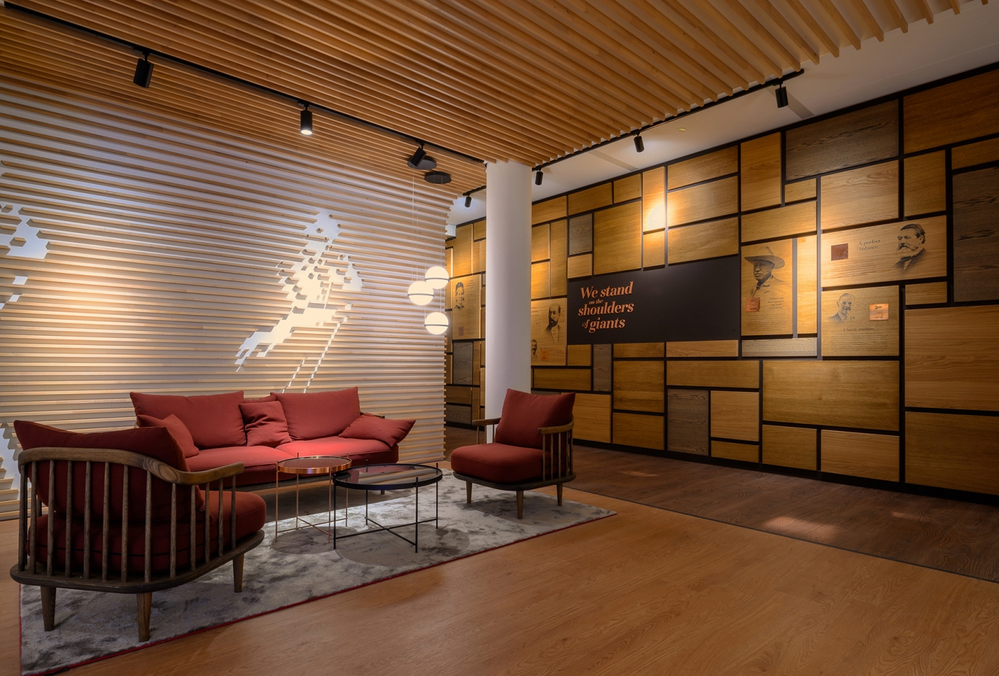 tetris diageo amsterdam branding signing interieur print