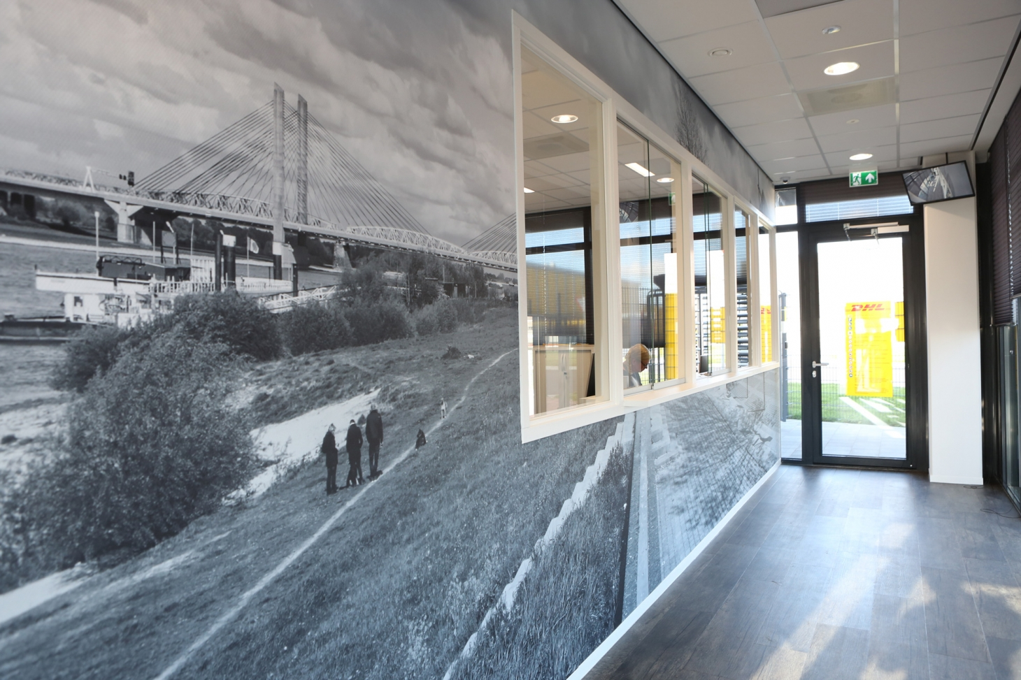 DJL Zaltbommel wandprint wallcovering airtex VIZIO signing