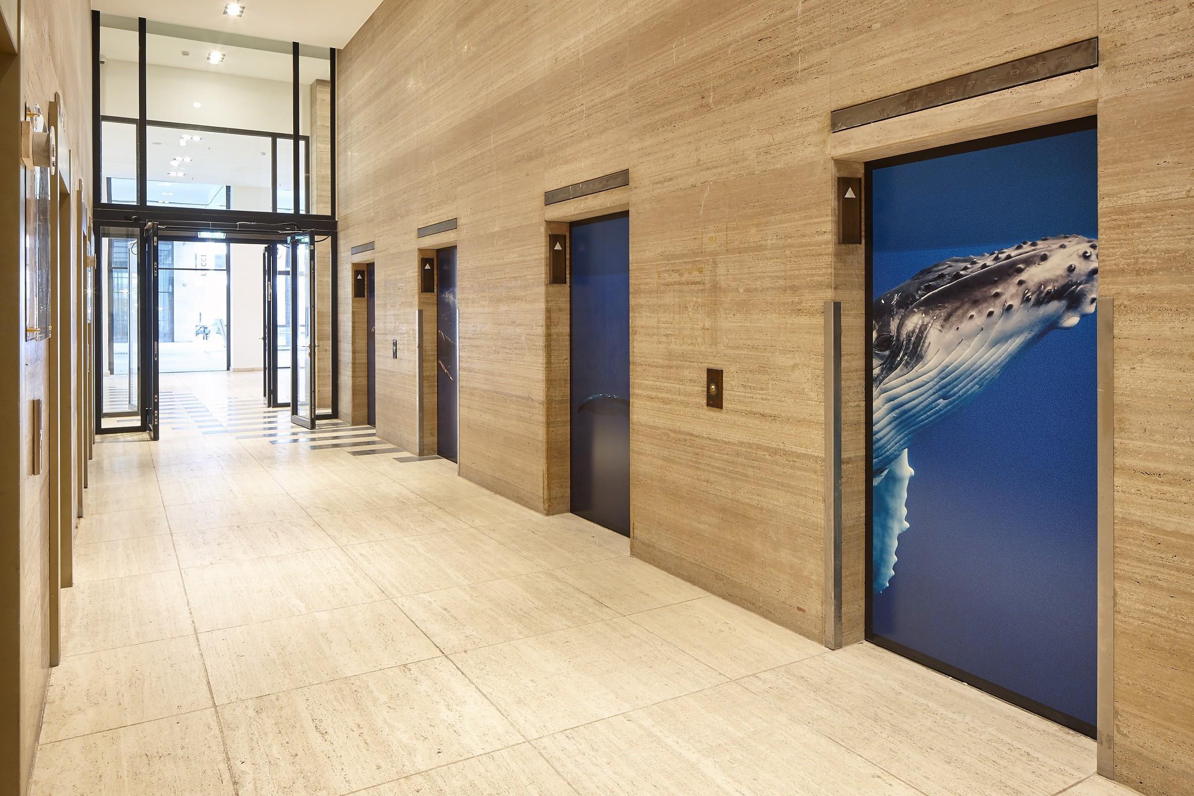 Lee Towers wandprints VIZIO wallcovering airtex